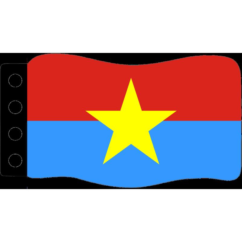 Vlag : Zuid Vietnam