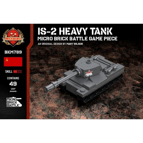 IS-2 Heavy Tank - Micro Brick Battle