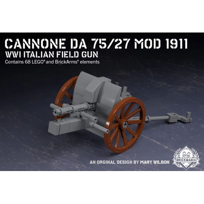 Cannone Da 75/27 - Modello 1911