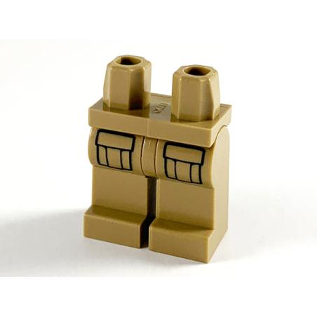 LEGO © - Beine mit Taschen
