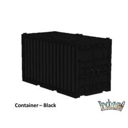 Container - Zwart