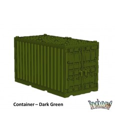 Container - Donkergroen