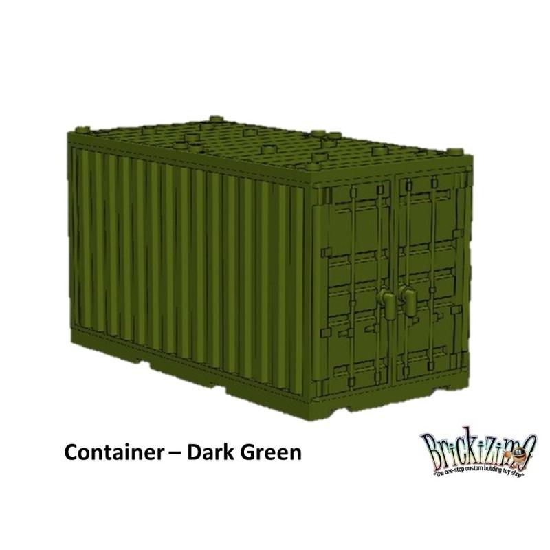 Container - Donkergroen
