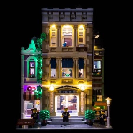 LEGO Police Station / Polizeistation 10278 Beleuchtungs-Kit