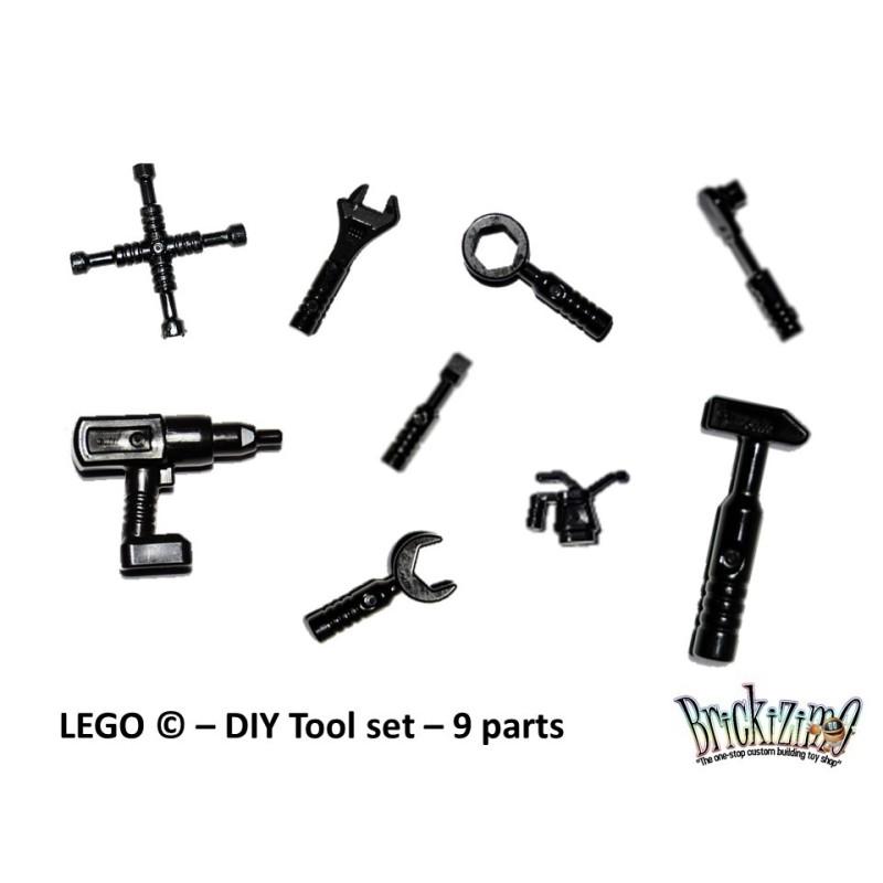 LEGO © - DIY Tool set – 9 parts