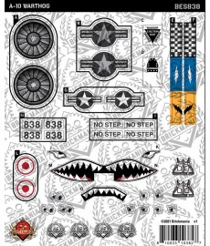 A-10 Warthog - Sticker Pack