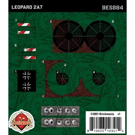 Leopard 2A7- Sticker Pack