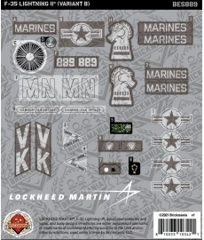 F-35 LIGHTNING II® (Variant B) - Sticker Pack