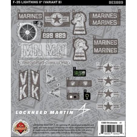 F-35 LIGHTNING II® (Variant B) - Sticker Pack