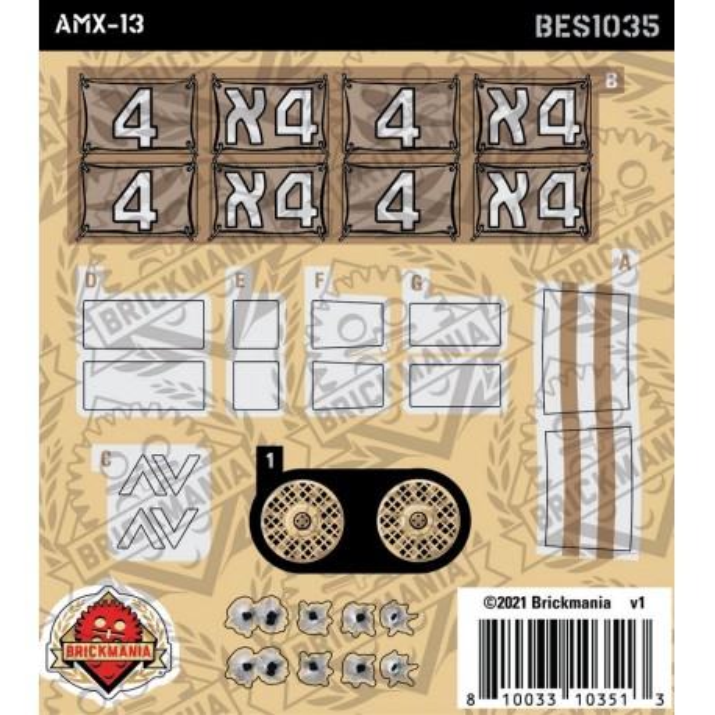 AMX-13 - Sticker Pack