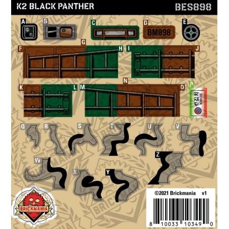 K2 Black Panther - Sticker Pack