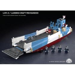 LCM-3 – Landing Craft Mechanized