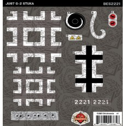 JU87 G-2 Stuka - Sticker Pack
