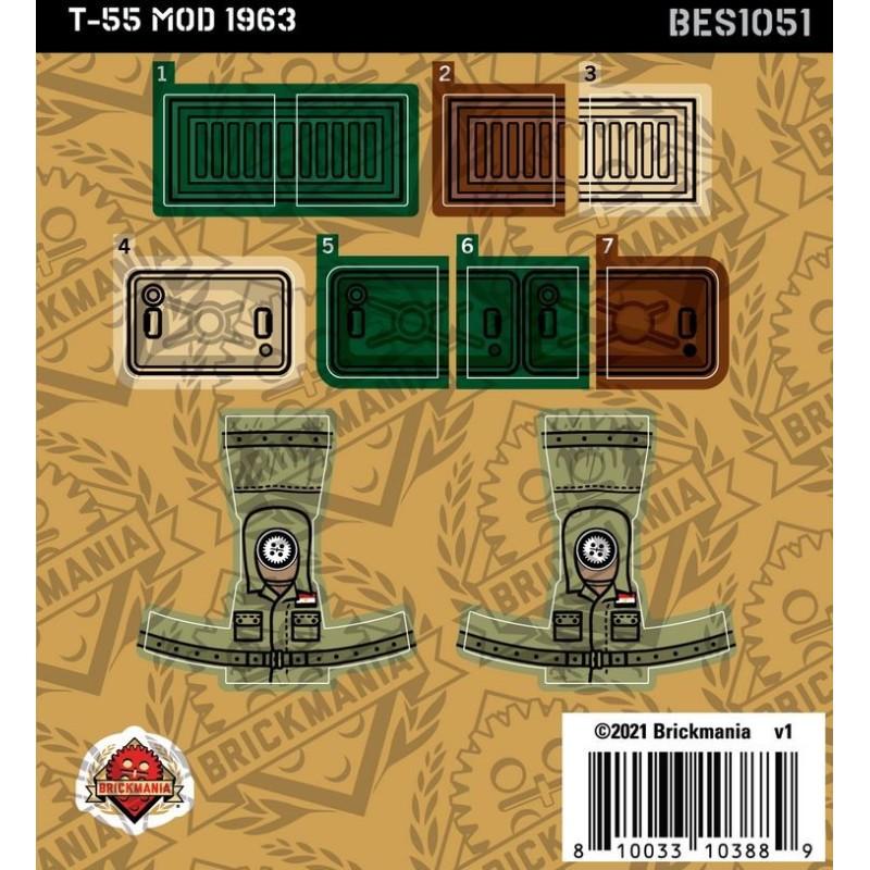 T-55 MOD 1963 - Sticker Pack