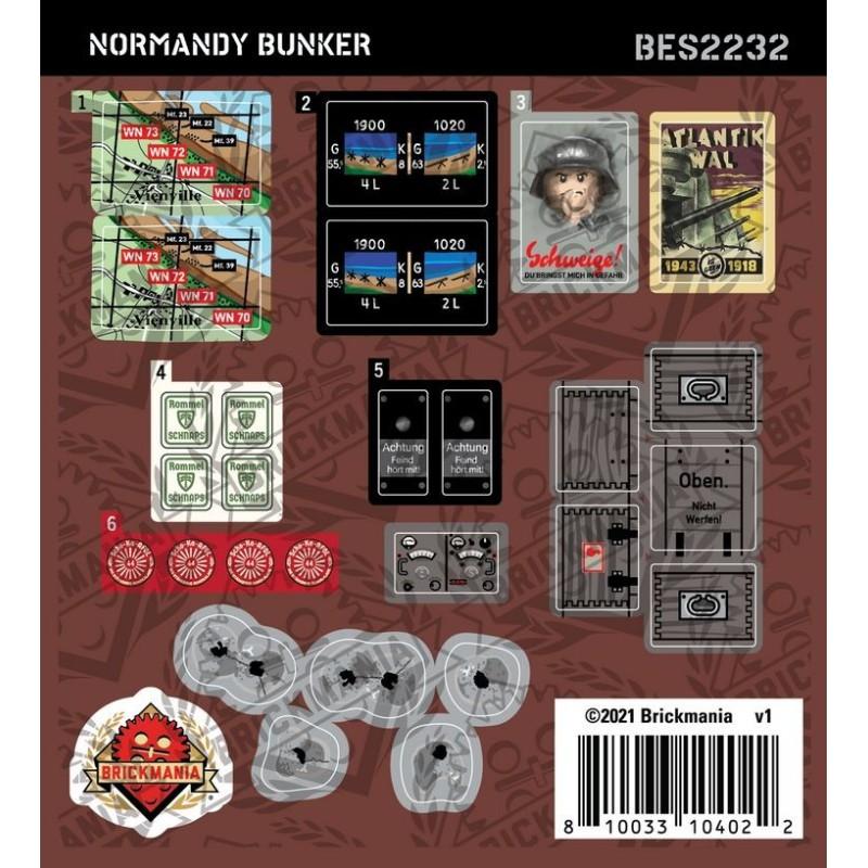 Normandy Bunker - Sticker Pack