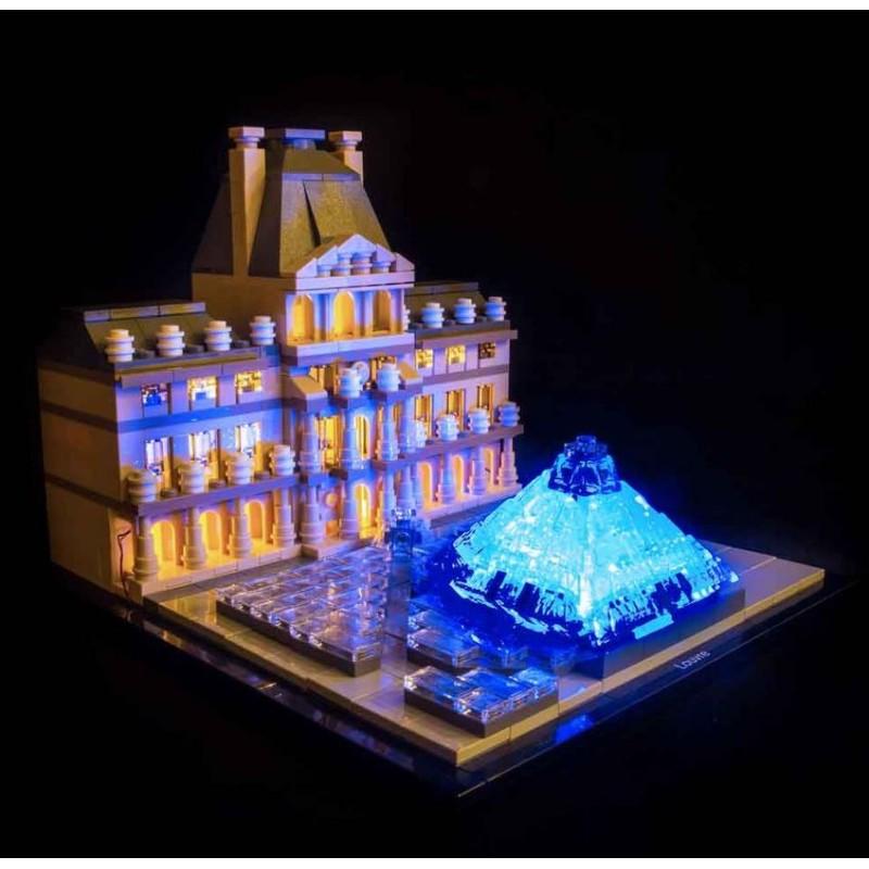 LEGO Louvre 21024 Beleuchtungs Set