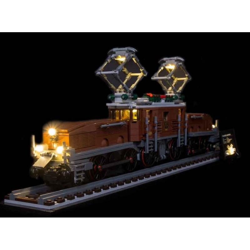 LEGO Crocodile Locomotive 10277 Beleuchtungs Set