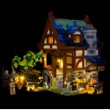 LEGO Medieval Blacksmith 21325 Beleuchtungs Set