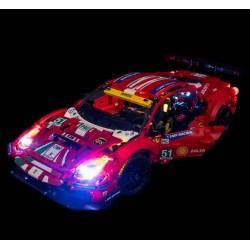 LEGO Ferrari 488 GTE 42125 Light Kit