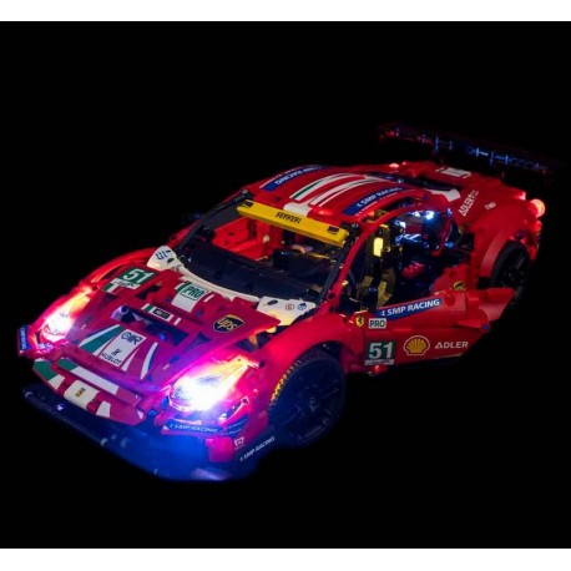 LEGO Ferrari 488 GTE 42125 Beleuchtungs Set