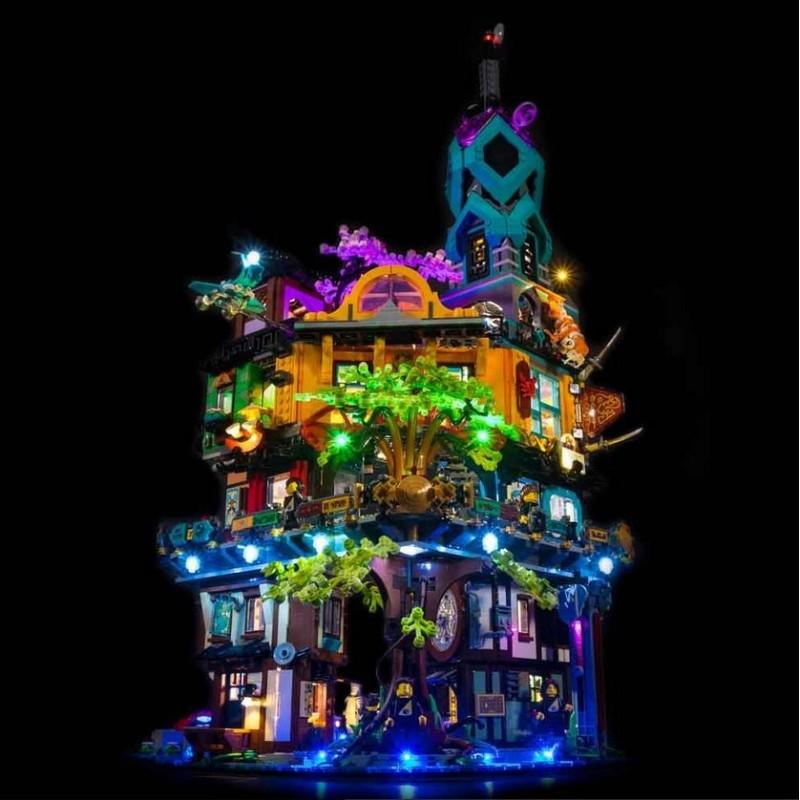 LEGO Ninjago City Gardens 71741 Beleuchtungs Set