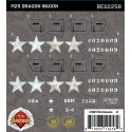 M25 Dragon Wagon - Sticker Pack