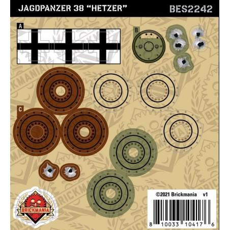 Jagdpanzer 38 ''Hetzer'' - Sticker Pack