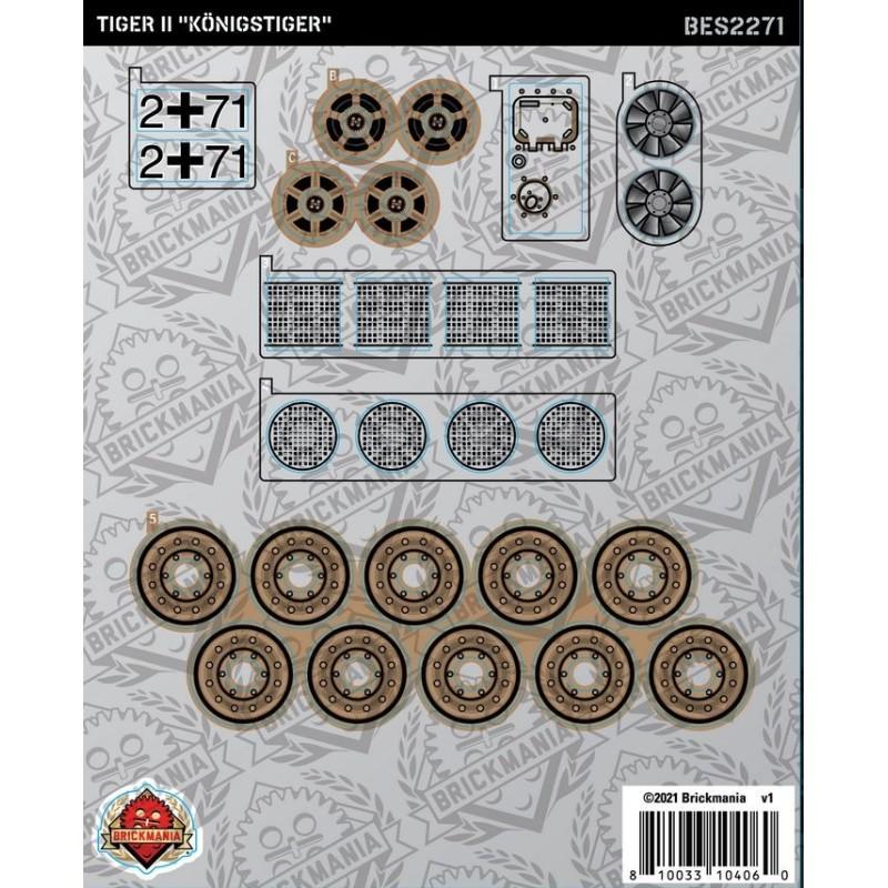"""Tiger II """"Königstiger"""" - Sticker Pack"""