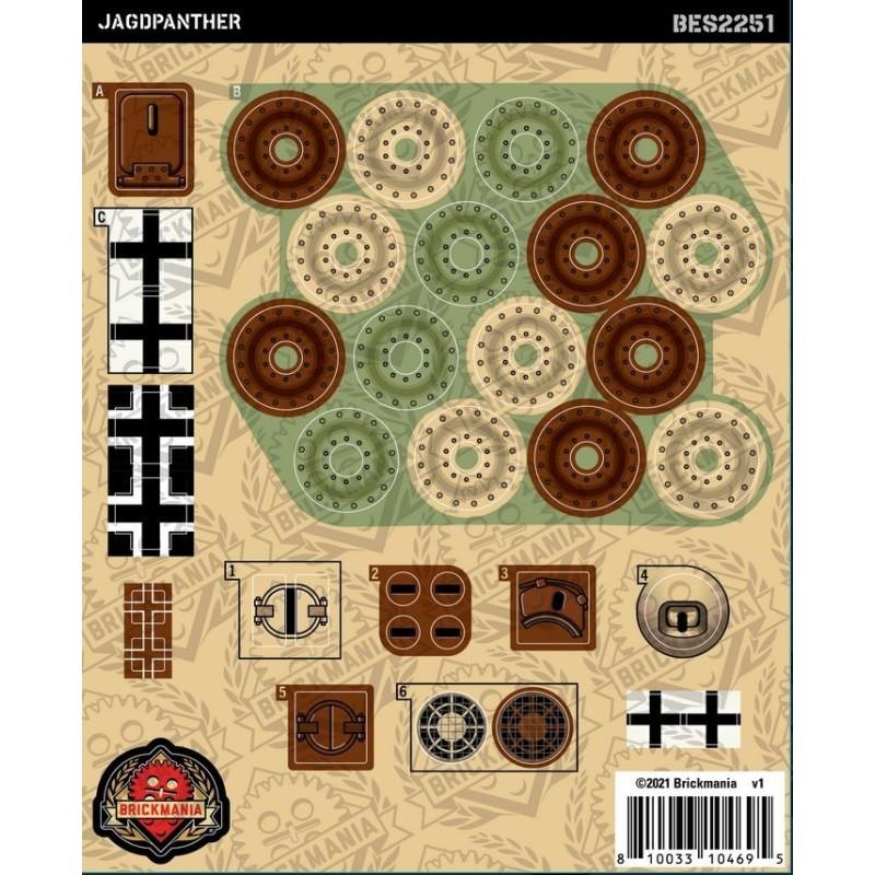 Jagdpanther - Sticker Pack