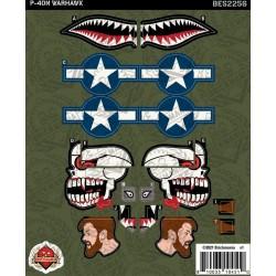 P-40N Warhawk - Sticker Pack