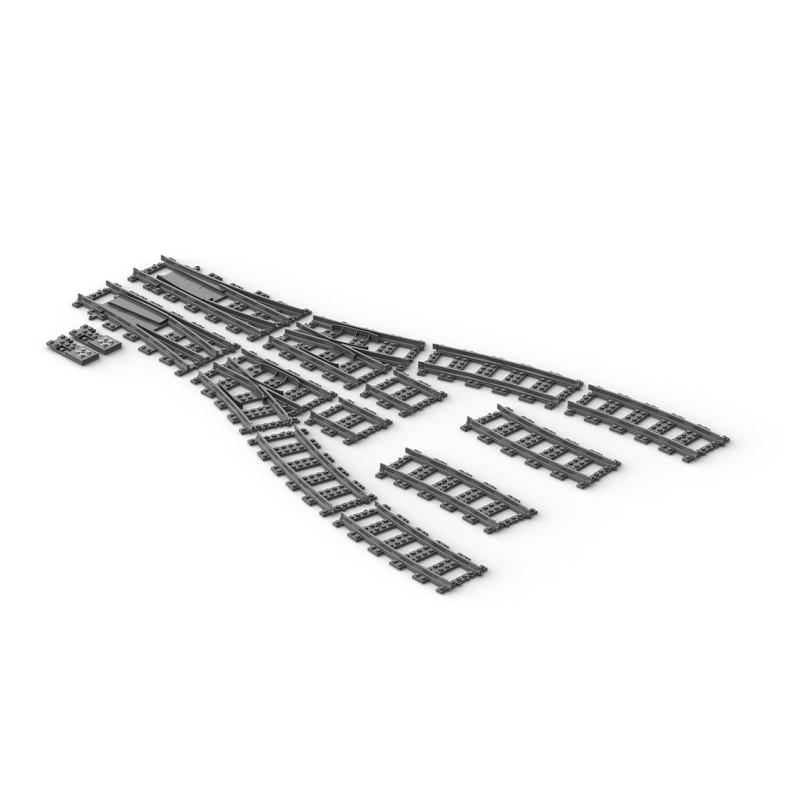 BrickTracks - R104 Switch Track Kits