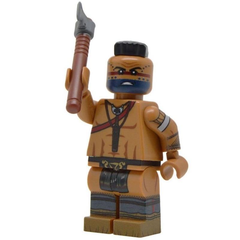 Native American Warrior (Revolutionary War)