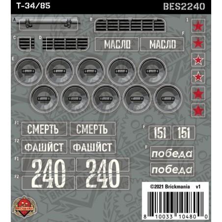 T-34/85 - Sticker Pack