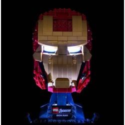 LEGO Iron Man Helmet 76165 Verlichtings Set