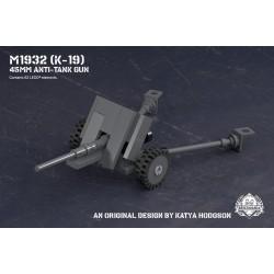 M1932 (K-19) - 45mm Anti-Tank Gun