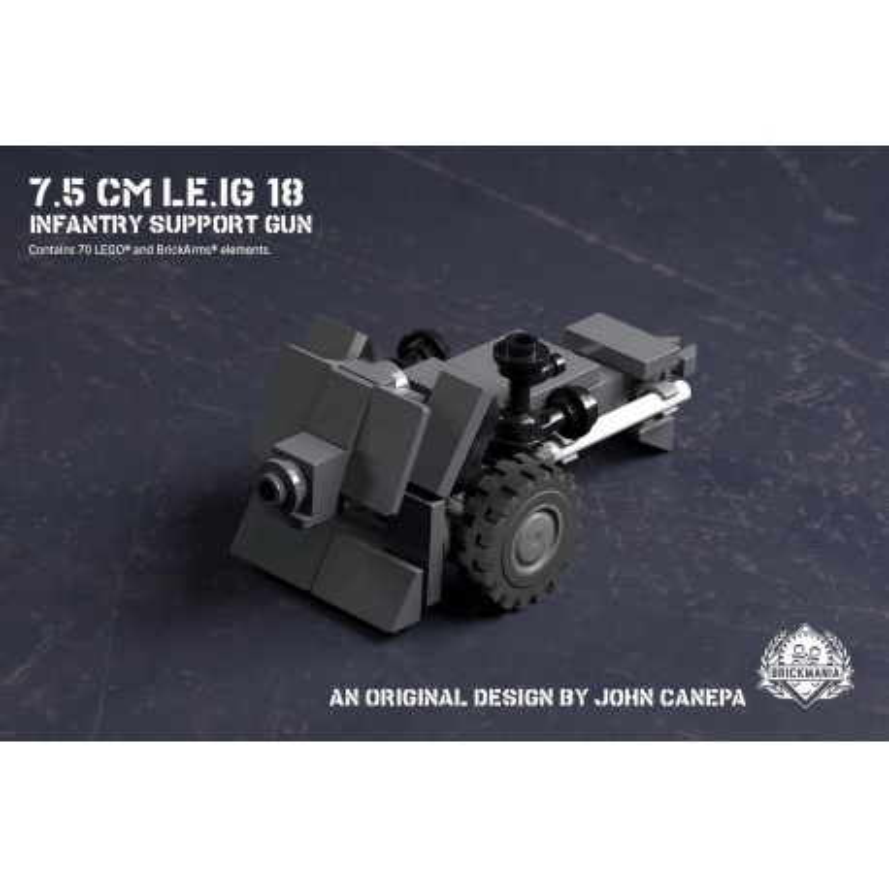 7.5 cm le.IG 18 - Infantry Support Gun