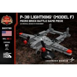 P-38 Lightning® (Model F) - Micro Brick Battle