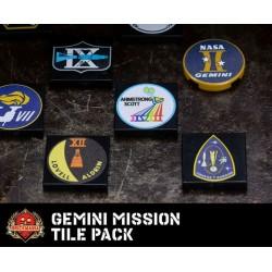 Gemini Mission tegel set