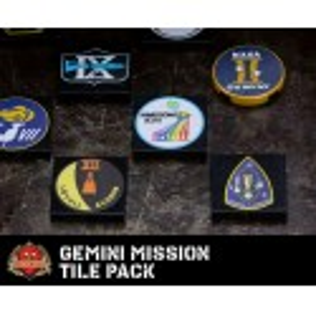 Gemini Mission Tiles set