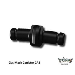 Gasmaske Kanister CA2 - Schwarz