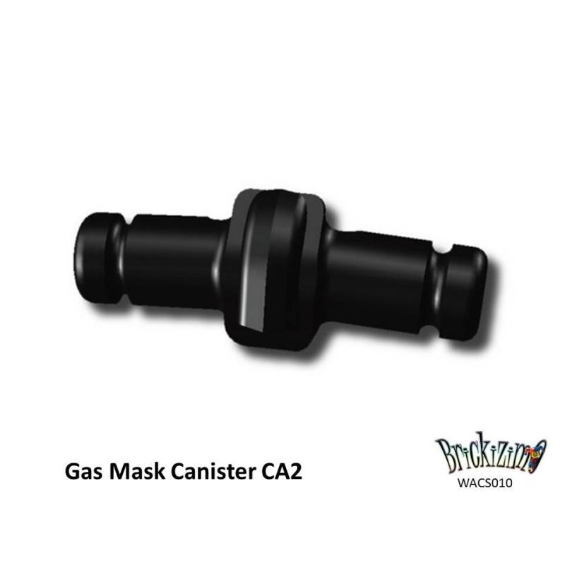 Gasmasker Canister CA2 - Zwart
