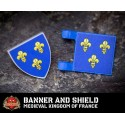 Banner and Shield: Medieval Kingdom of France