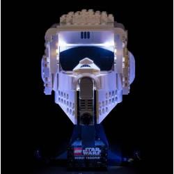 LEGO Scout Trooper Helmet 75305 Beleuchtungs Set