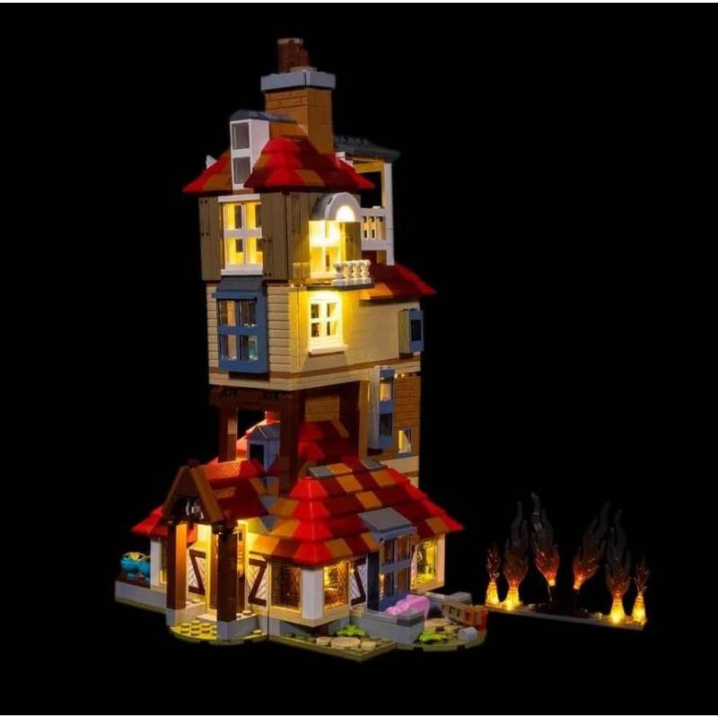 LEGO Attack On The Burrow 75980 Light Kit