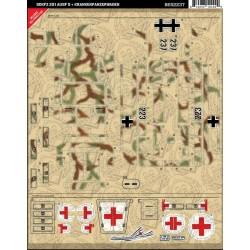 SdKfz 251 Ausf D + Krankenpanzerwagen - Sticker Pack