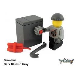 Growbar - Dark Blueish Gray
