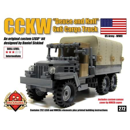 """Brickmania CCKW """"Deuce and a Half"""" 6x6 Truck"""
