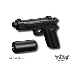 M92FS mit Schalldämpfer