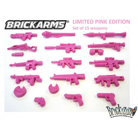 BrickArms LIMITED PINK EDITION
