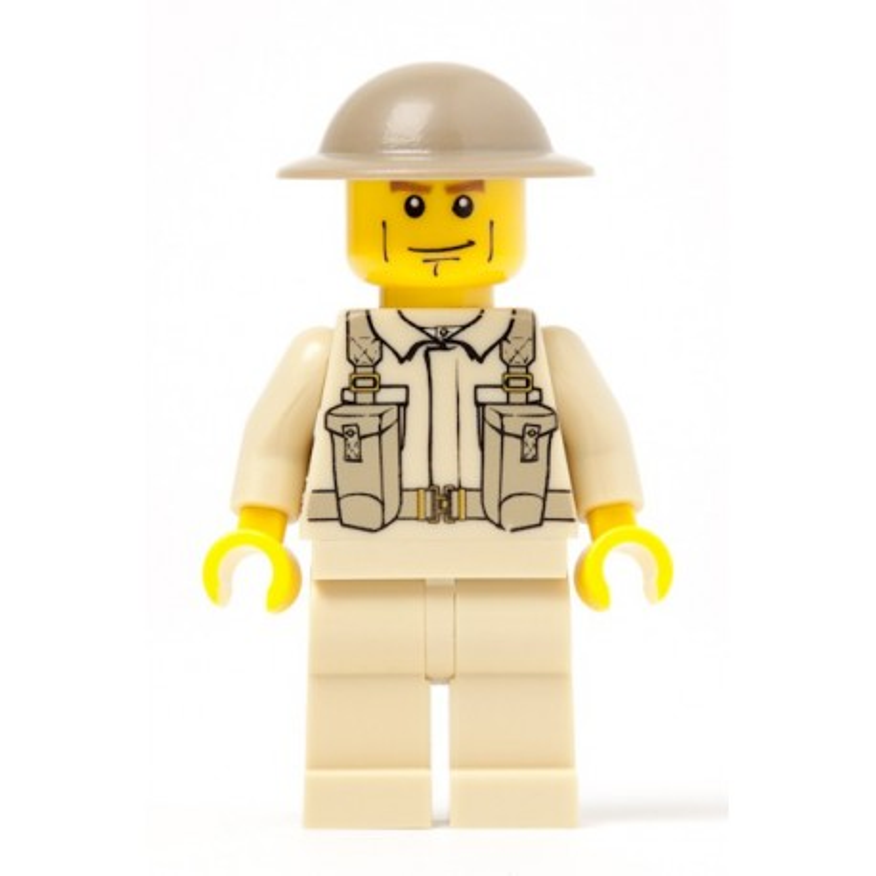 British Army Infanterie Soldaat met rugzak
